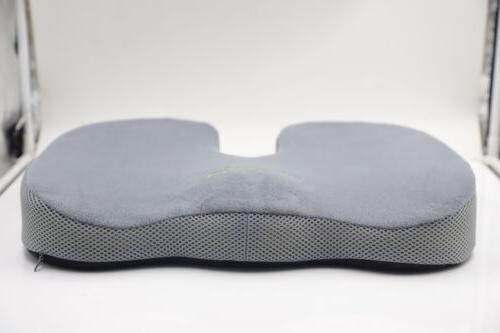 Memory Seat for Back Pain Relief Tailbone Pain Office Pillow