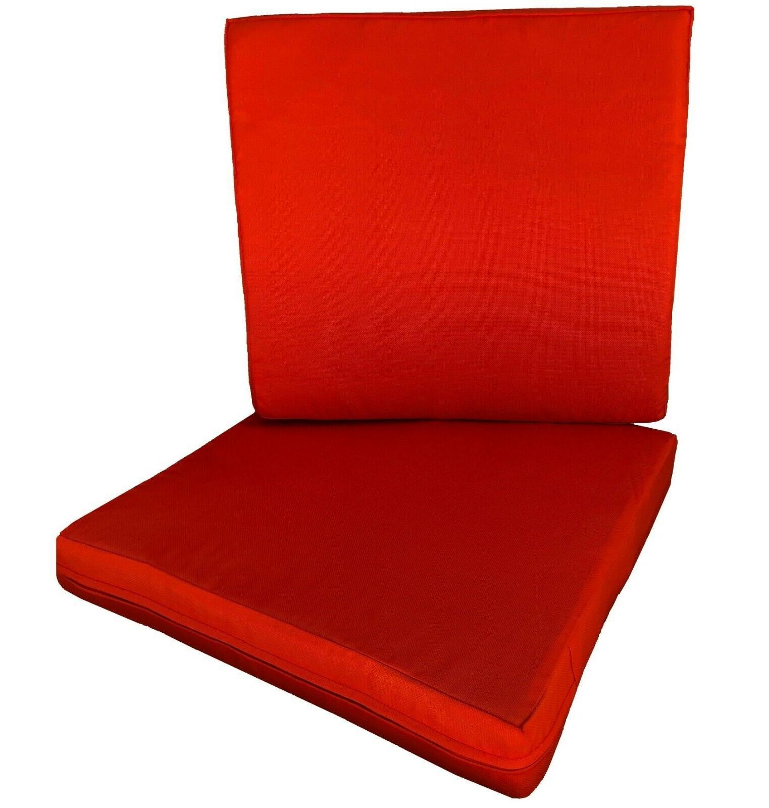 "Outdoor Pack Deep Seat Chair Memory Foam 20""X18""X4"""