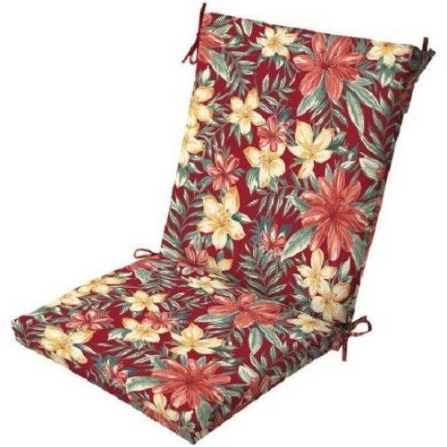 Outdoor Cushion Seat Set Patio High Chair Soft