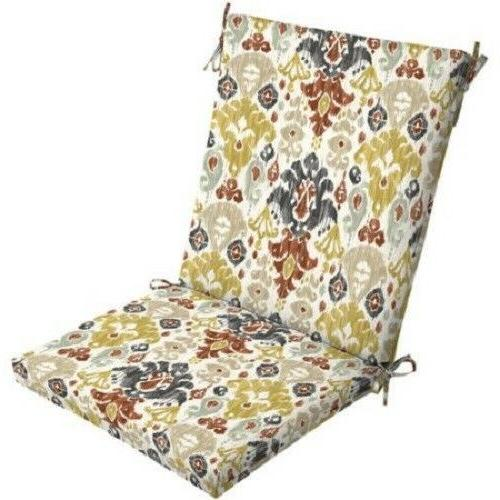 Outdoor Seat Pad Chair Choose 2/4Pc