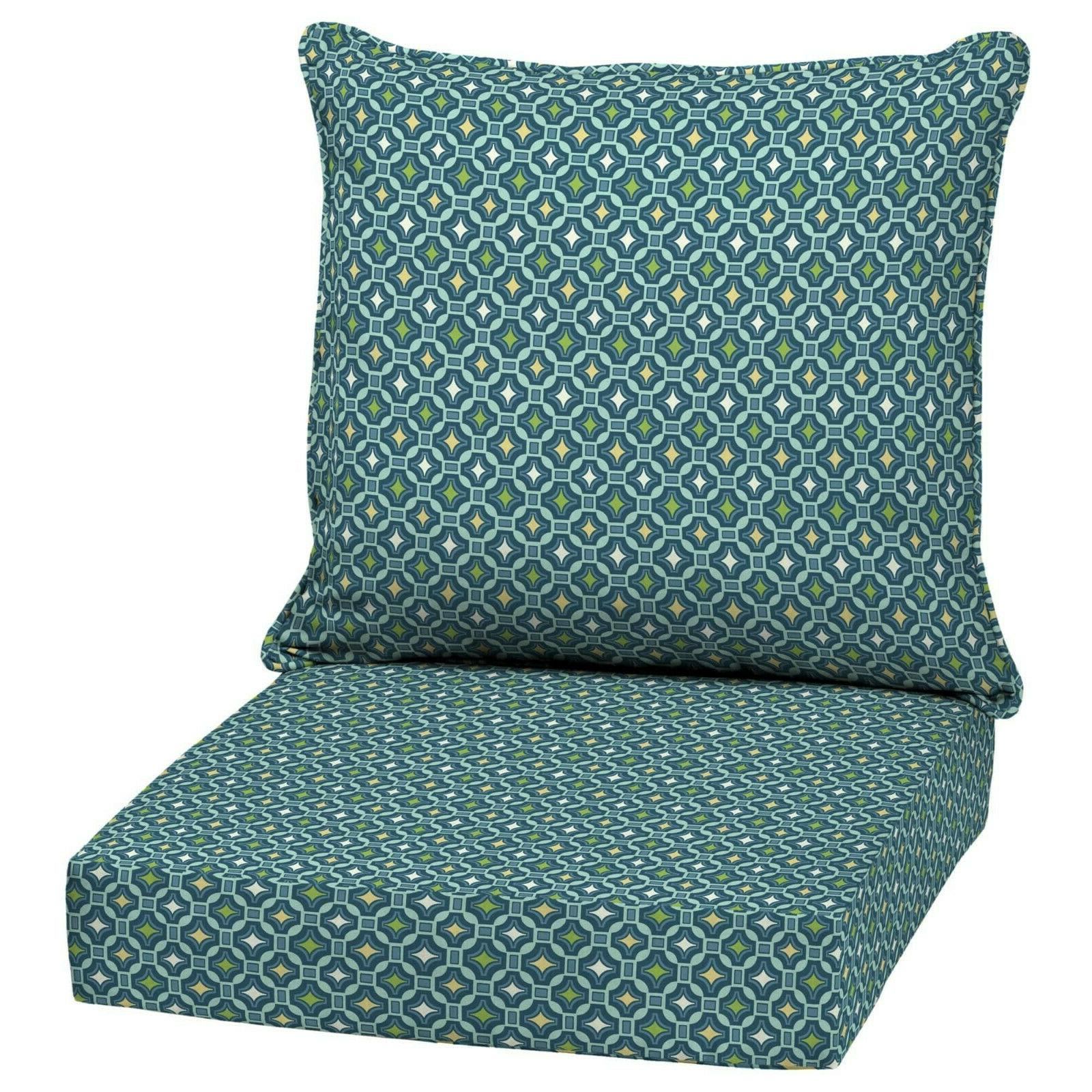 Outdoor Seat Patio Set Pad Resistant Porch Furniture