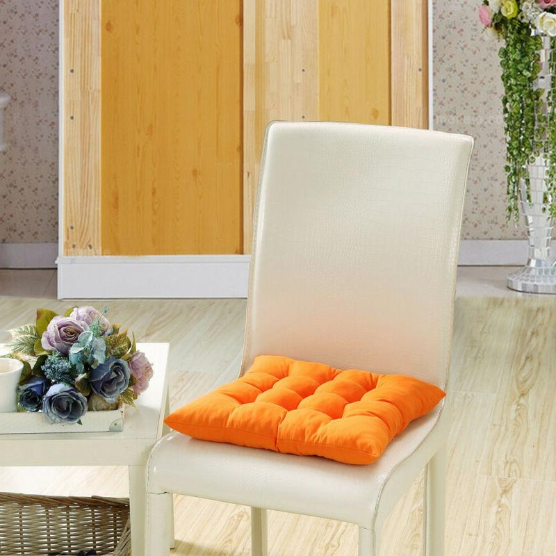 orange chair seat cushion pads indoor outdoor
