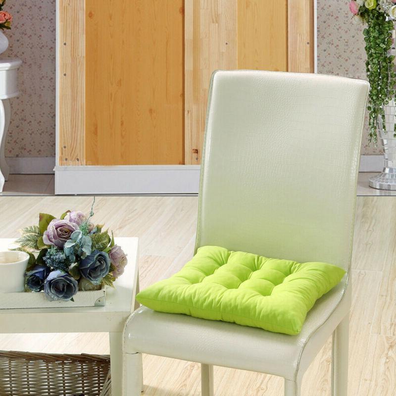 seat cushion pads red indoor outdoor garden