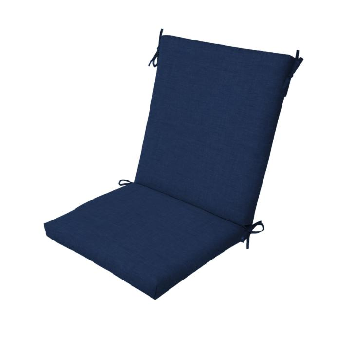 Outdoor Seat Cushions Blue Resistant Porch Furniture of 4