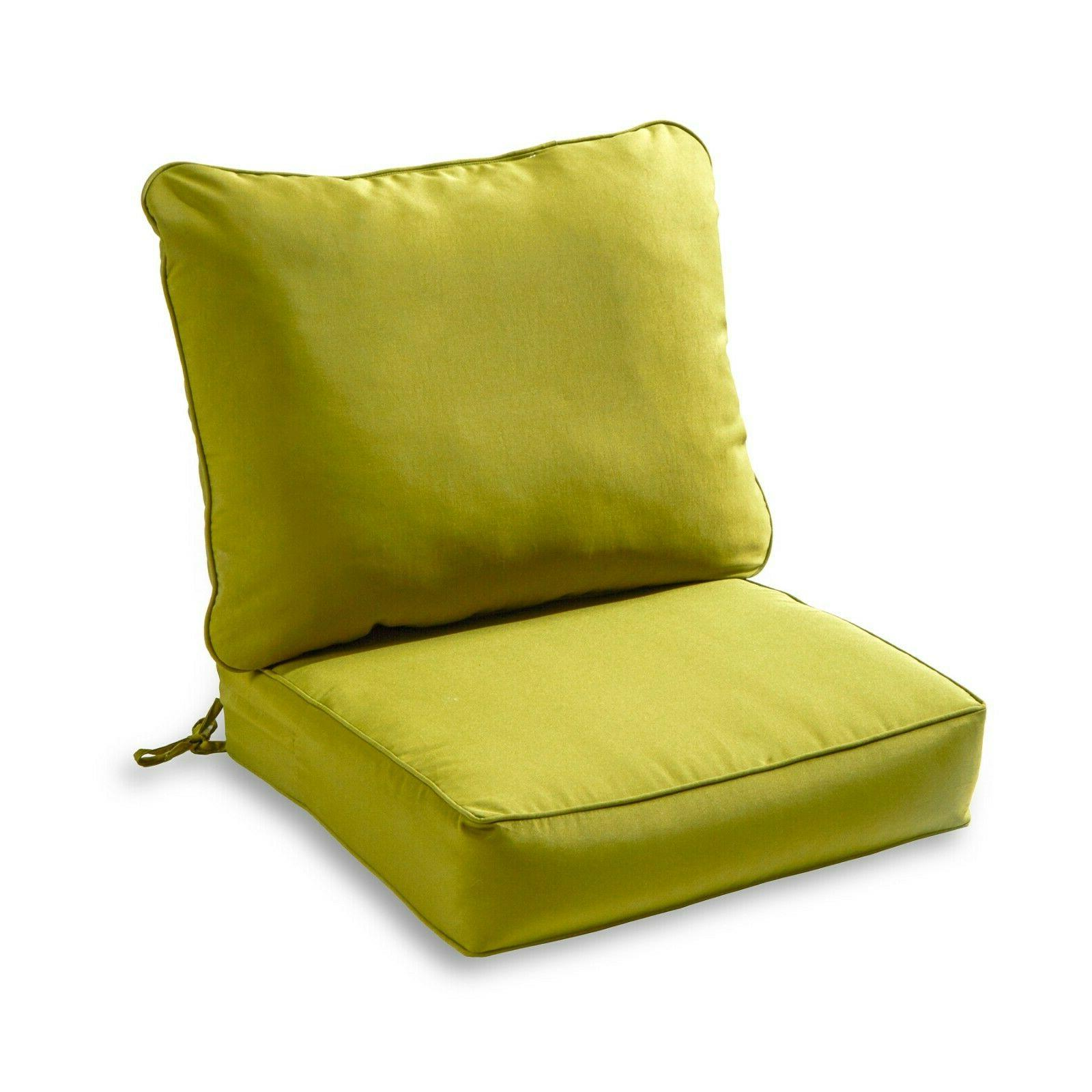 Outdoor Cushion Green Replacement for