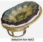 Papasan Chair Cushion Pet Bed Overstuffed Floor Pillow Seat