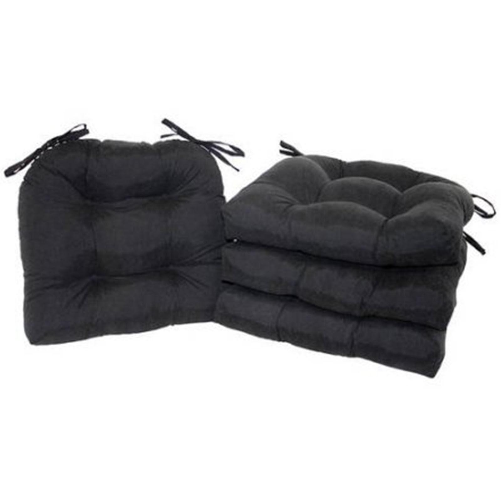 Patio Chair Cushion Set 4 Pad Garden Soft