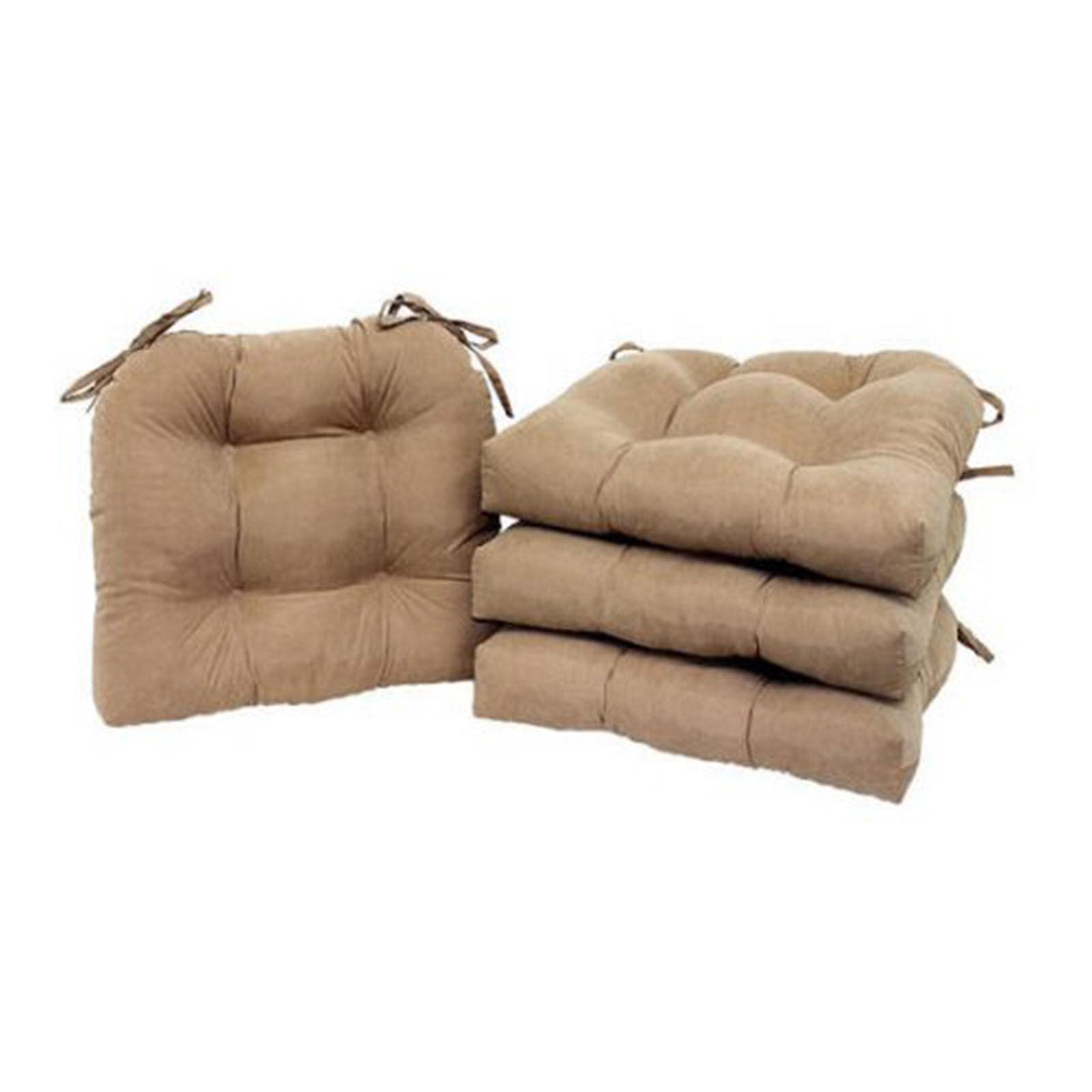 Patio Cushion Set 4 Pad Garden Furniture Soft