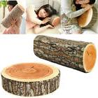Pillow Cushion Soft Log Decor Neck Support Throw Nature Car