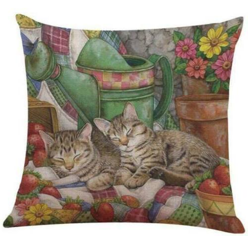 Pillows for Sofa Case pillow case Seat Cushion Cover