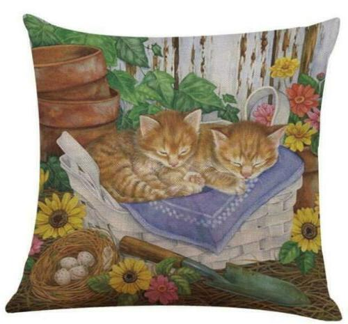 Pillows Sofa Case Seat Cushion Cover