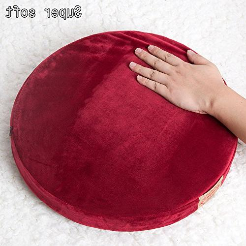 Shinnwa Polyester Cushion Cushion Short Plush Home White