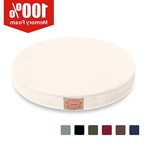 polyester supper soft cushion round