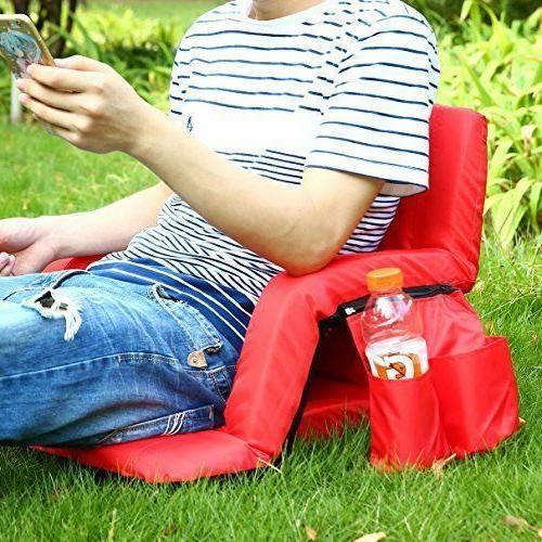 Stadium Portable Chairs Reclining Cushion