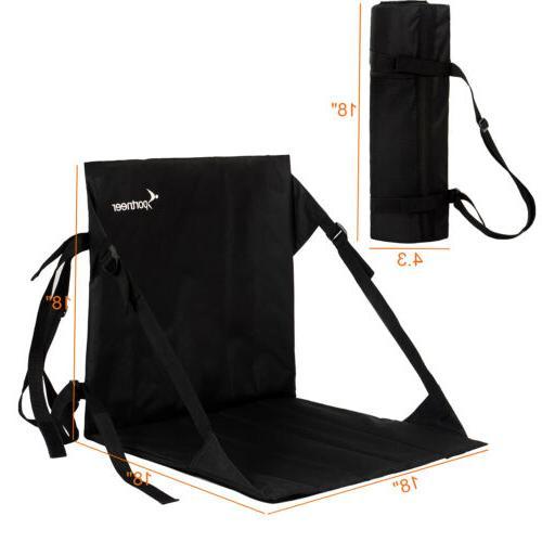Portable Stadium Chair Padded Seat Cushion Folding Bleacher