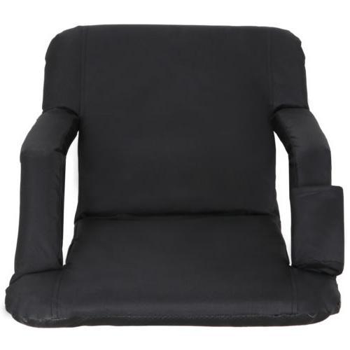 2 Stadium Bleacher Cushion 5 Reclining Positions