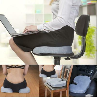 Posture Cushions Seat Memory Foam Pain Relief Pads US