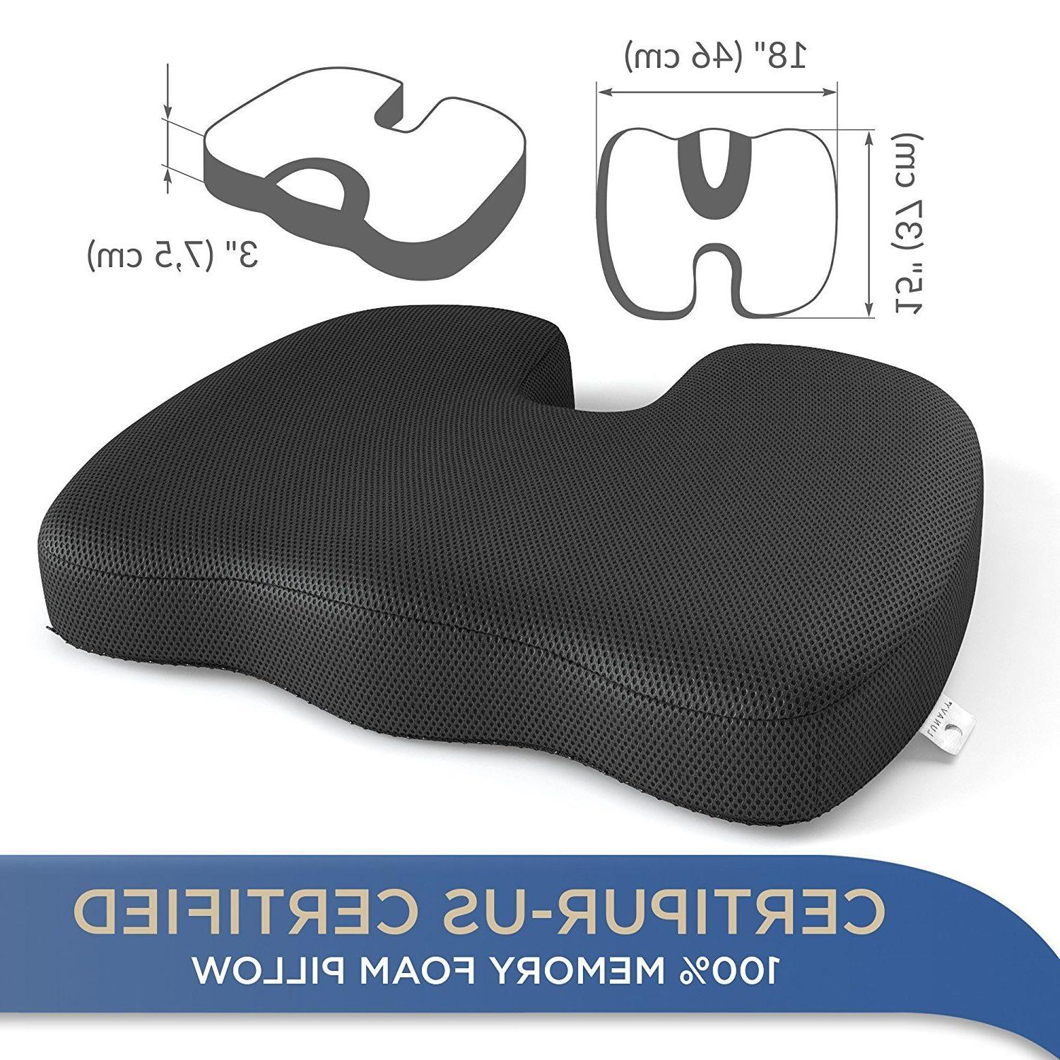 Premium Seat Cushion Perfect Portable Padded Pillow
