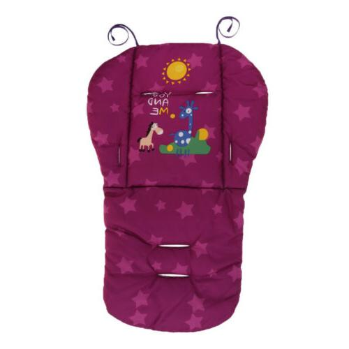 Pushchairs Seat Liner Baby Stroller Cushion Seat Pad Double