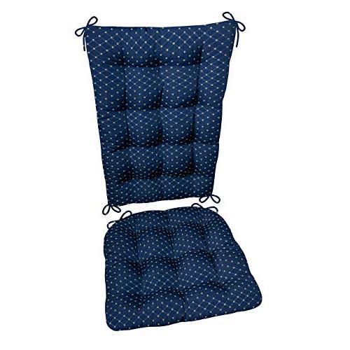 rocking chair cushion set diamond