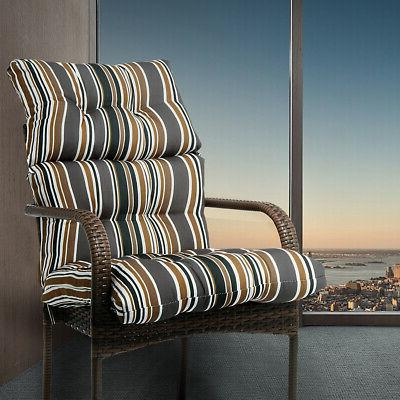 Rocking Chair Seat Cushion-High Back Solid Cushion