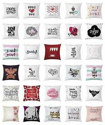 romantic throw pillow cases cushion covers by