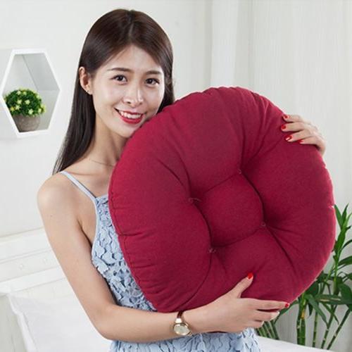 Round Pad Floor Patio Home Car Office Tatami Pillow