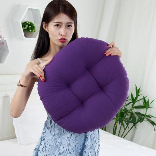 Round Cushion Floor Mat Patio Car Office Tatami Pillow