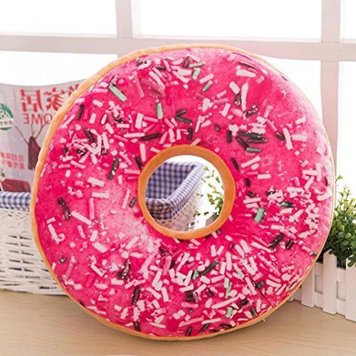 Sothread Round Donut Seat Throw Pillow Toy