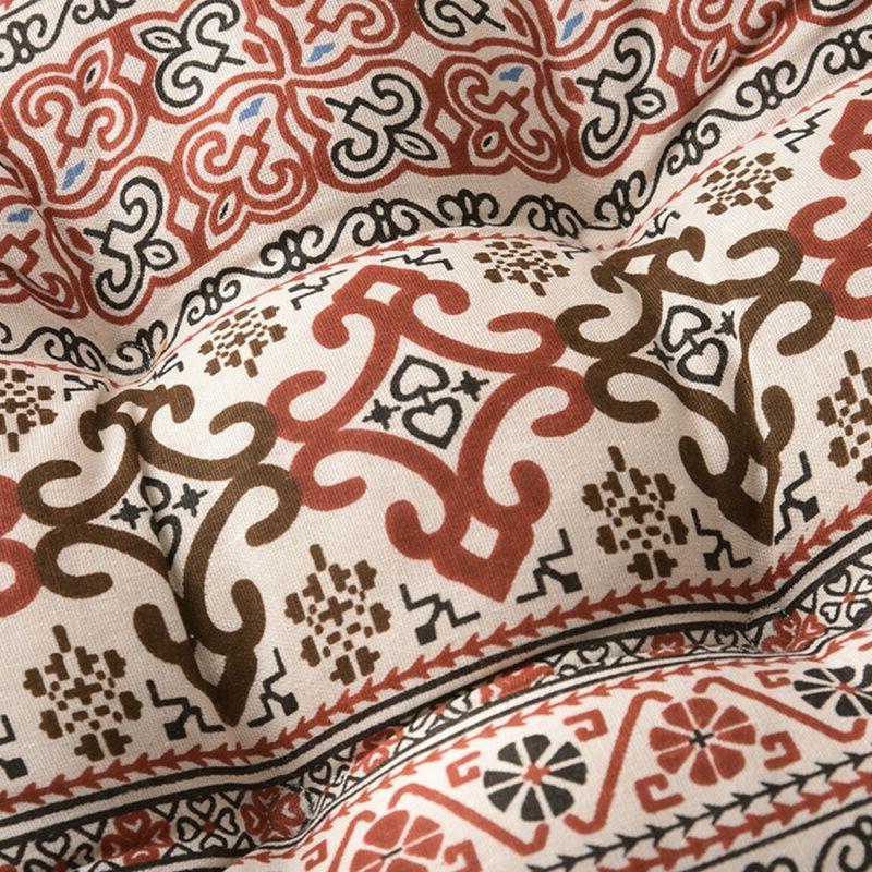 Round Seat Silk Pillow Car Cushion
