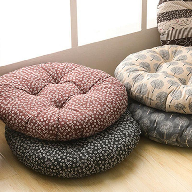Round Seat Pillow Car Soft Cushion