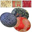 RoundShape Cover*Chinese Rayon Brocade Floor Chair Seat Cush