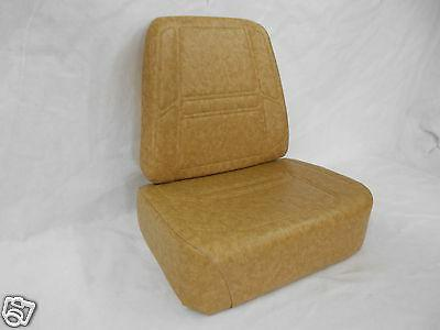 SCAG BROWN REPLACEMENT SEAT CUSHION SET ZERO TURN MOWERS,EXT
