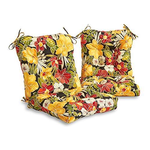 seat back chair cushion aloha