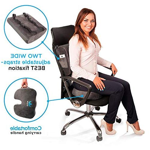 SOFTaCARE Seat Coccyx Lumbar Support of