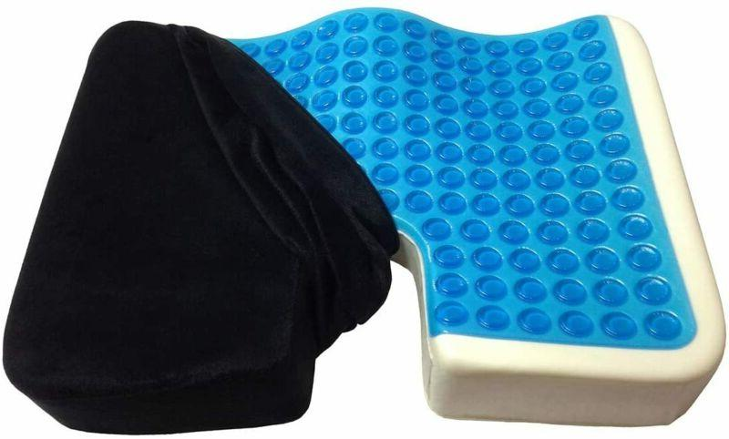 seat cushion gel pillow cooling coccyx back