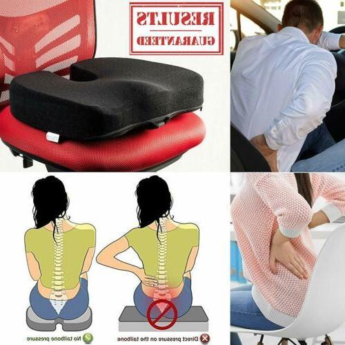Seat Cushion Orthopedic Foam Relief Sciatica Pillow