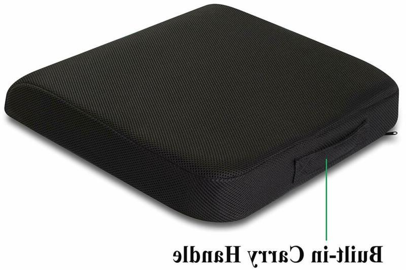 Seat Cushion Pillow Memory Foam Chair Relief Support Car