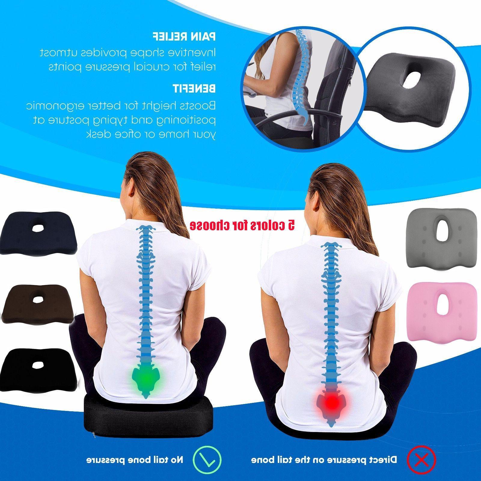 Seat Cushion Pain- Lower Back, Tailbone ,Sciatica,Prostate EK