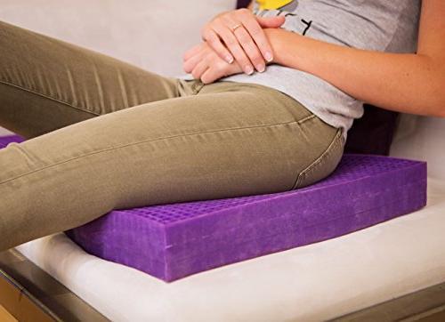 Purple Ultimate Cushion - Chair in & Sciatica