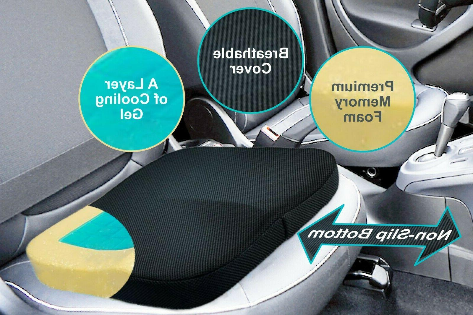 Seat - Cover - Orthopedic Gel & Foam