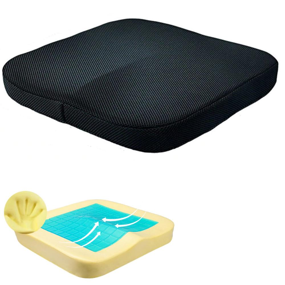 seat cushion washable cover orthopedic memory gel