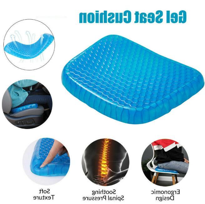 Seat Gel Egg Sitting Flexible Cushion Car Home Cooling US