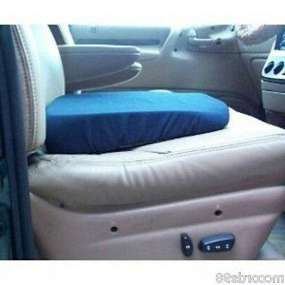 seat wedge cushion 16x13 in blue washable