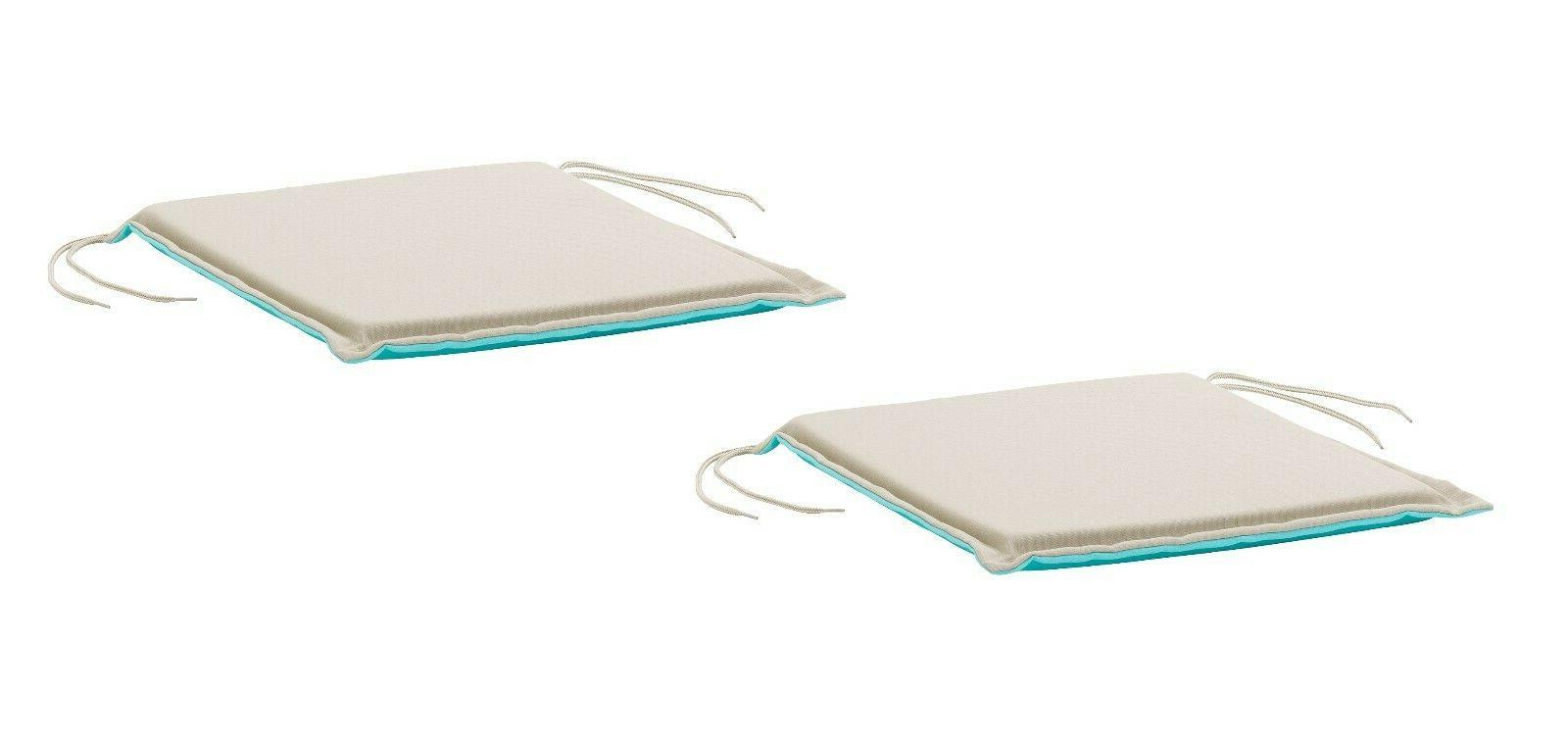 Set of 2 - IKEA NÄSTÖN NASTON Chair Seat Pad Cushion 2-col