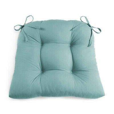 Set 4 Cushion Seat 14.5 Outdoor Dining Furniture