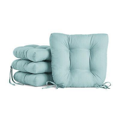 set of 4 chair cushion seat 14