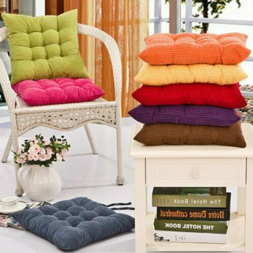 Set of 4 Pads Dining Kitchen Cushion Indoor Outdoor