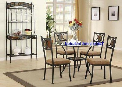 Set of 4 or 8 side Chairs for Dining room cushion seat slate