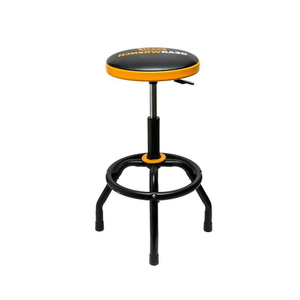 shop stool adjustable height seat swivel air